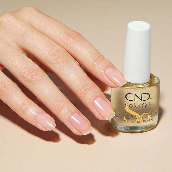 Укрепление ногтей Биогелем CND