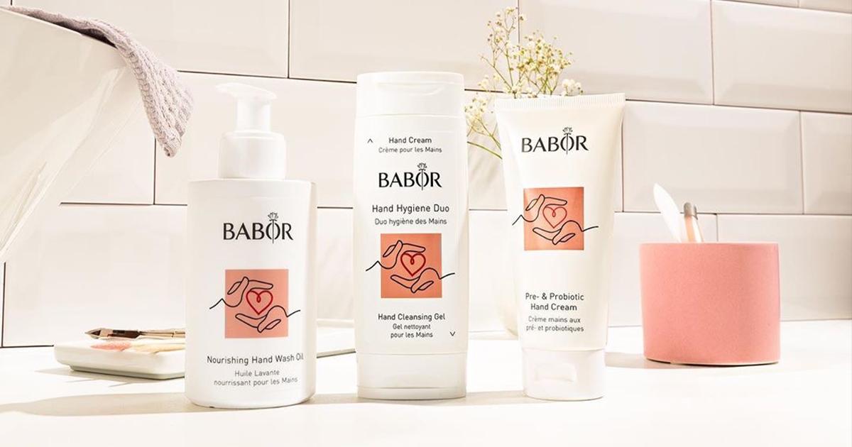 Лимитированная серия продуктов для рук BABOR Hand Care